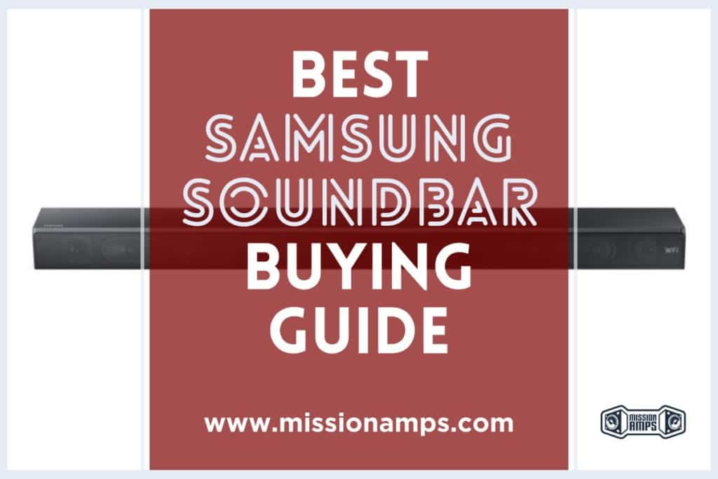 Samsung Soundbar Guide